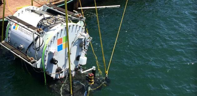 Microsoft vuole portare i server sotto acqua in data center subacquei