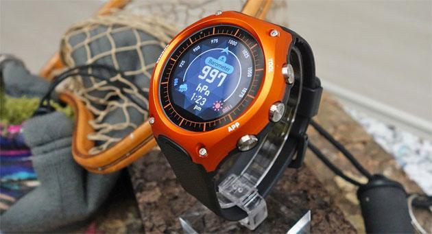 Casio WSD-F10, smartwatch Android Wear