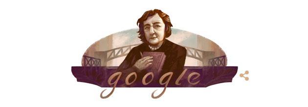 Doodle, Google ricorda Alda Merini a 85 anni dalla nascita