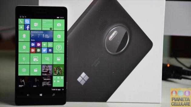 Recensione Microsoft Lumia 950 XL