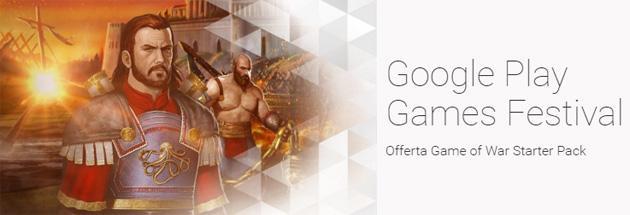 Google Play Games Festival dal 10 marzo al 6 aprile