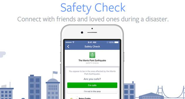 Facebook attiva Safety Check per terremoto in Centro Italia