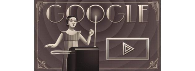 Google Doodle a Clara Rockmore, la maggior thereminista della storia