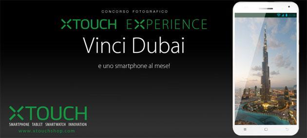 Xtouch lancia concorso Experience, in palio smartphone X4 e viaggio a Dubai