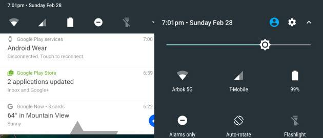 Android N:  Ecco il nuovo sistema di notifica