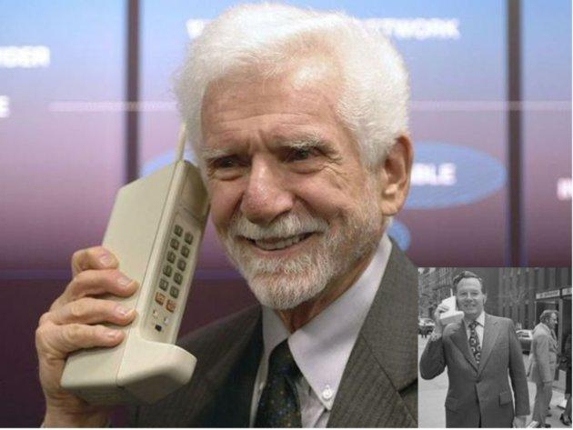 Cellulari: 45 anni con Martin Cooper, Motorola e  DynaTac 8000X