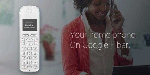 Fiber Phone, servizio di telefonia fissa by Google