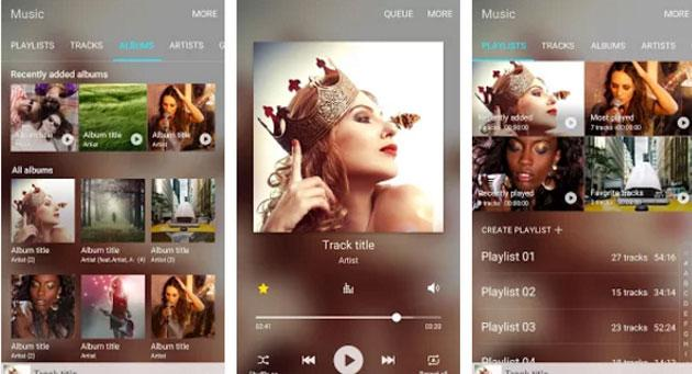 Samsung Music app disponibile nel Play Store