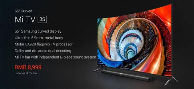 Xiaomi Mi TV 3S, un TV UHD Samsung con Android