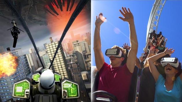 Six Flags e Samsung insieme per le montagne russe con guida virtuale immersiva