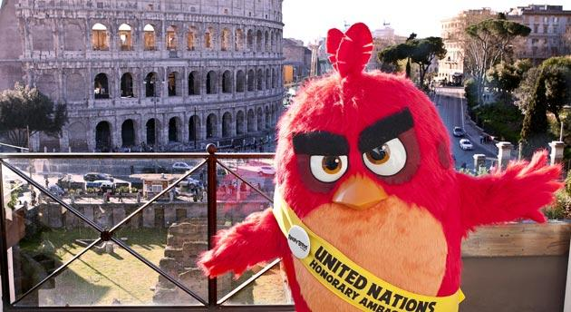 Angry Birds, Red nuovo ambasciatore ONU per l' Ambiente