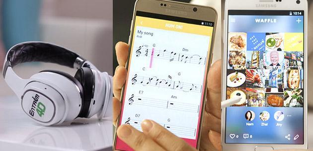 Samsung C-Lab presenta Entrim 4D, Hum On, Waffle - nuovi progetti sperimentali
