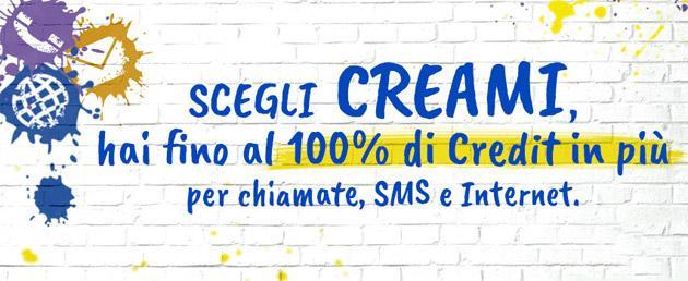 PosteMobile Creami in promozione fino al 10 settembre