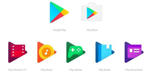Google Play app, le nuove icone sono disponibili
