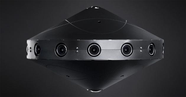 Facebook svela 360, fotocamera VR che registra a 360 gradi in 8k