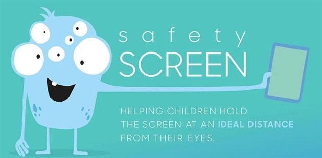Safety Screen, app Samsung per impedire ai bambini di guardare schermi di smartphone e tablet da troppo vicino