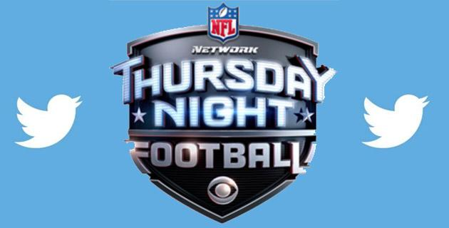 Twitter trasmettera' il Thursday Night di NFL nel 2017
