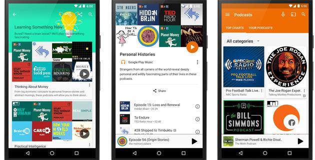 Podcast su Google Play Music negli USA