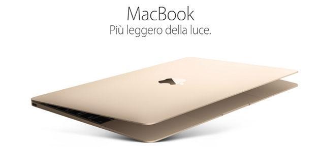 Apple aggiorna MacBook con Intel Core M e color oro rosa