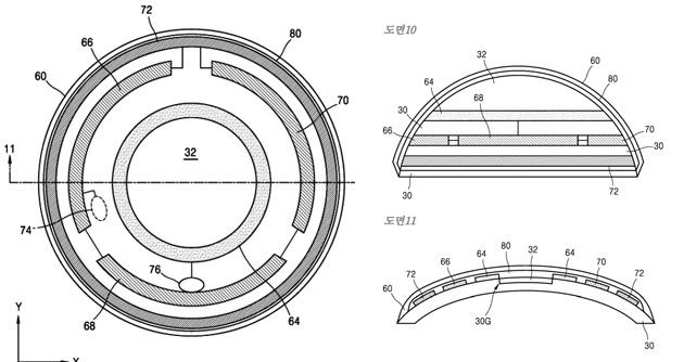 Samsung brevetta Smart Lens, lenti a contatto intelligenti