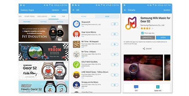 Samsung unisce Gear e Galaxy Apps in unico Store