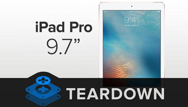 Apple iPad Pro 9.7 difficile da riparare per iFixit