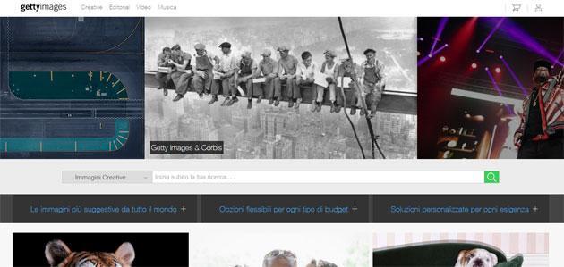 Getty Images accusa Google di violare copyright