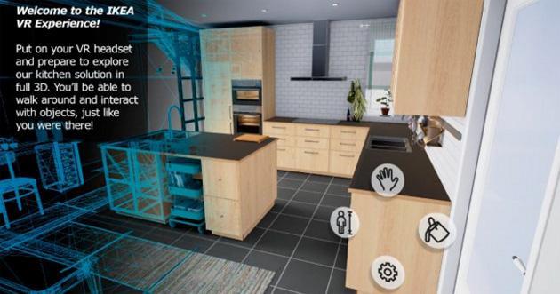 IKEA lancia VR Experience su HTC Vive