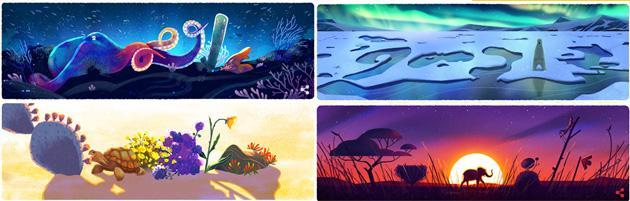 Giornata della Terra 2016, Doodle speciale di Google