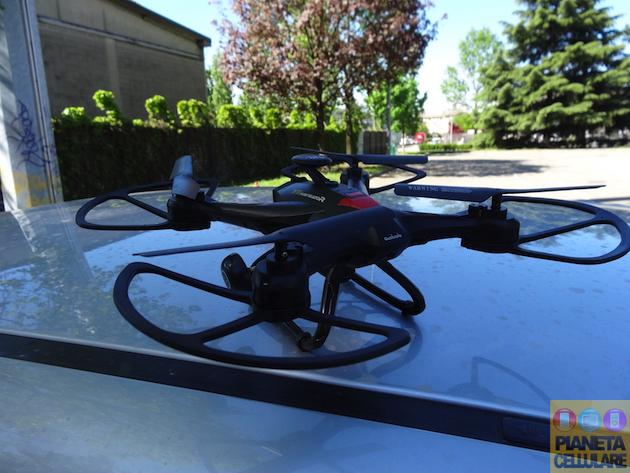 Recensione Xinlin X163F, Drone Quadricottero con controller