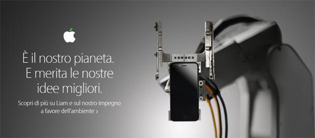 Apple Liam, il robot che ricicla iPhone