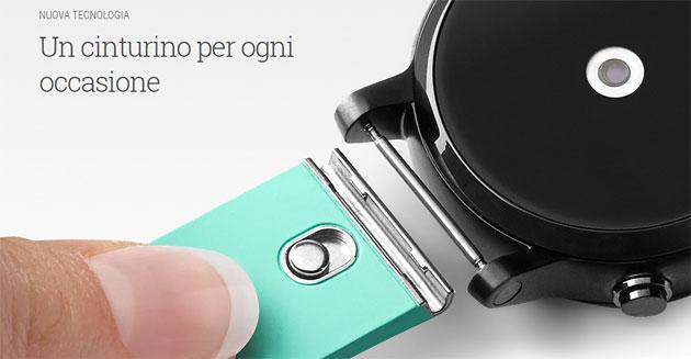 Google lancia cinturini MODE per smartwatch Android Wear