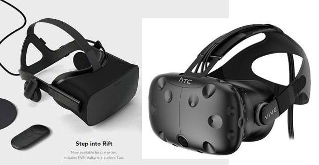 Oculus Rift e HTC Vive, ci sono problemi nelle consegne