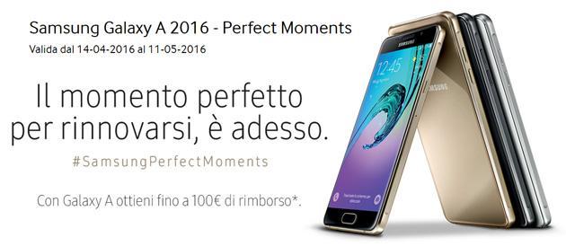 Galaxy A 2016, Samsung rimborsa fino a 100 euro