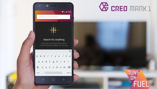 CREO lancia il suo primo smartphone, Mark 1