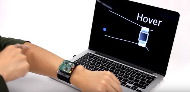 SkinTrack trasforma braccio in touchpad per SmartWatch
