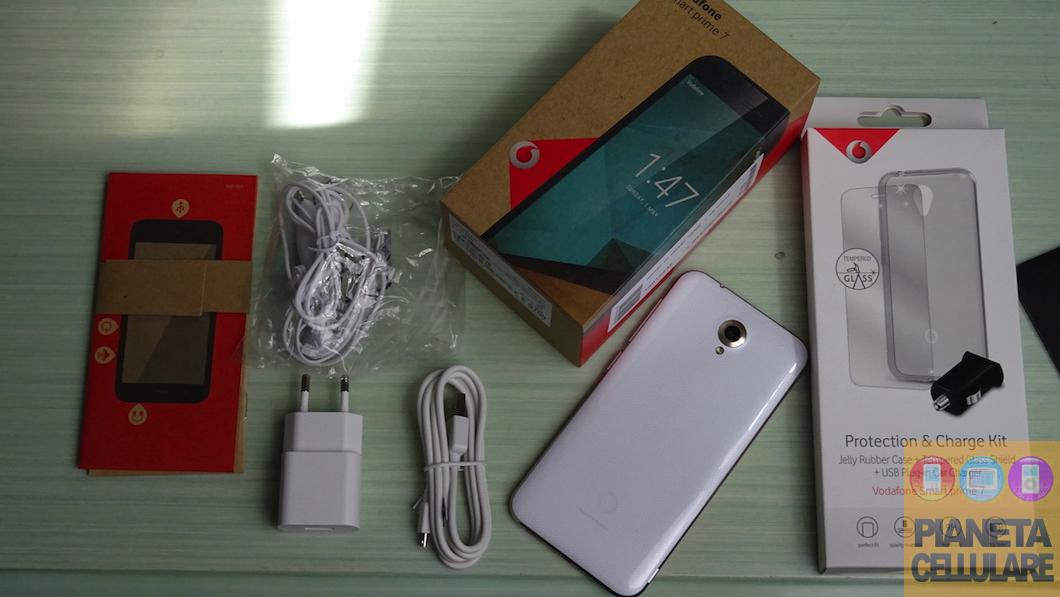 Unboxing Vodafone Smart Prime 2016