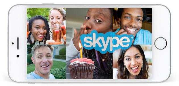 Skype per iOS, ora possibile inviare messaggi video personalizzati