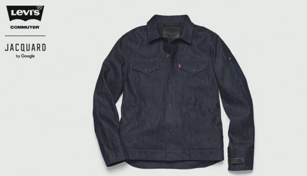 Levi Commuter, la giacca intelligente di Google da autunno in vendita