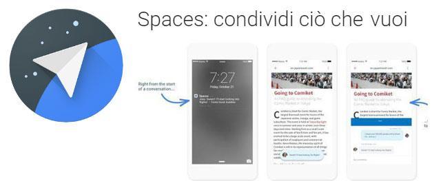 Google Spaces, nuova app per gruppi social