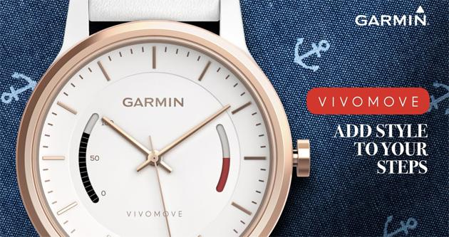 Garmin Vivomove, orologio analogico e activity tracker
