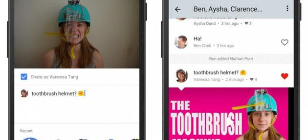 Foto YouTube, app mobile diventa chat