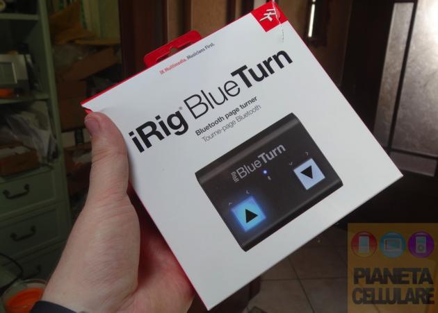 Recensione iRig BlueTurn, indispensabile per gli appassionati di musica
