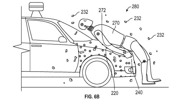Google brevetta carta moschicida per umani per Google Car