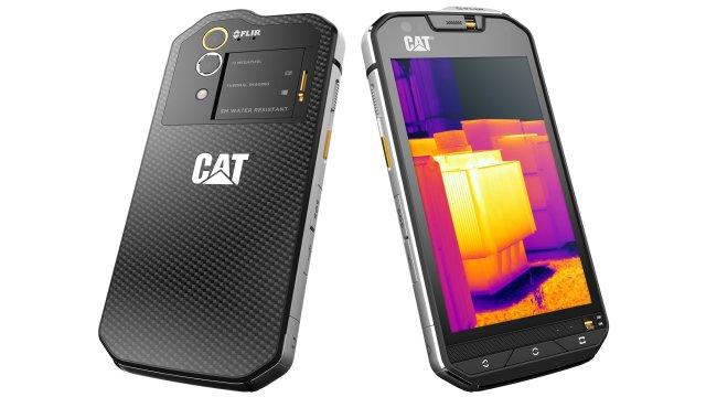 Cat S60, primo Smartphone Android con scansione Termica e tecnologia FLIR