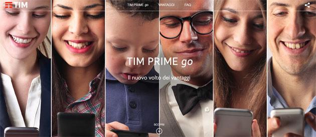 TIM Prime Go aumenta costo piani tariffari base TIM dal 15 Giugno