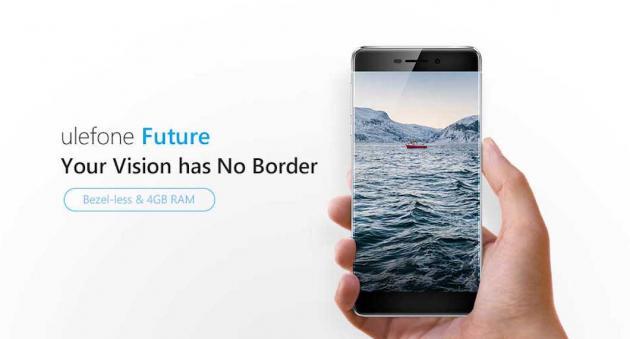 Ulefone Future 4 GB RAM borderless in preordine a meno di 200 euro con spedizione gratis