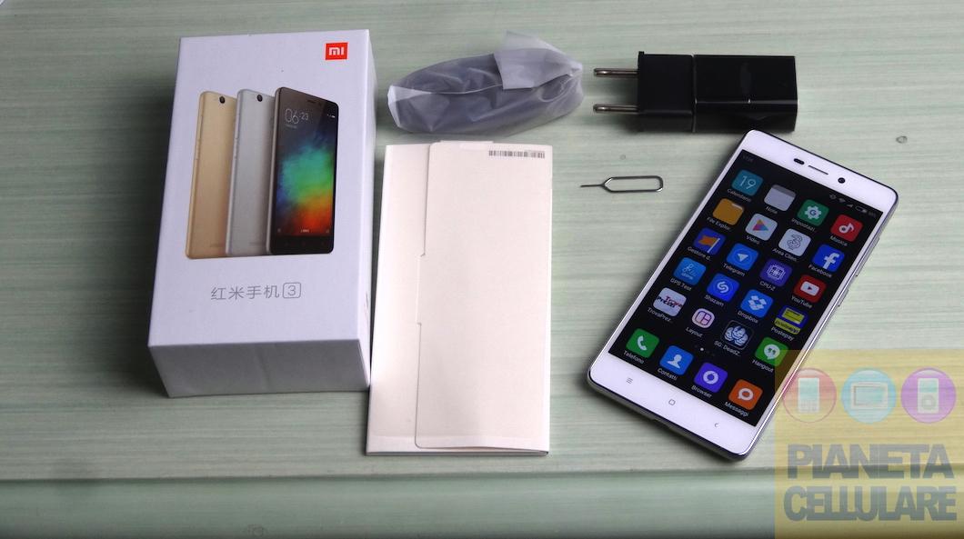 Xiaomi Redmi 3 Pro, unboxing e prime impressioni