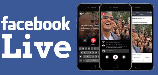 Facebook Live, arriva streaming continuo fino a 24 ore