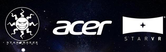 Acer sviluppa StarVR con Starbreeze